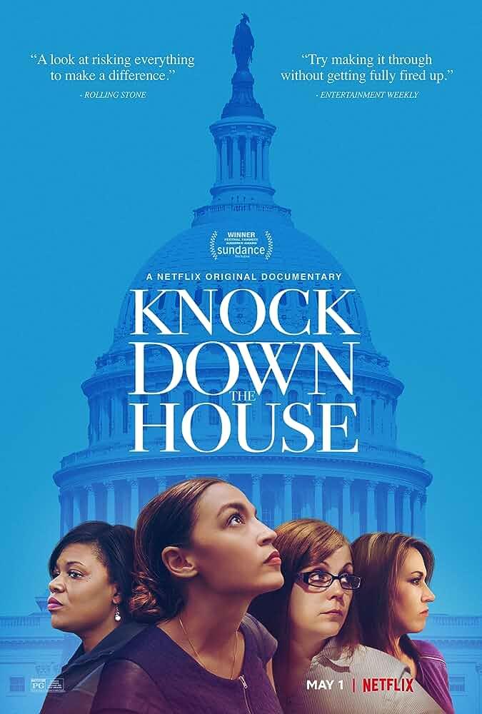 Knock Down the House 2019 WebRip Dual Audio [Hindi+ English] 720p HEVC 550MB