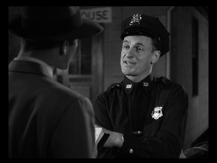 James Gregory and Don Taylor in The Naked City (1948)