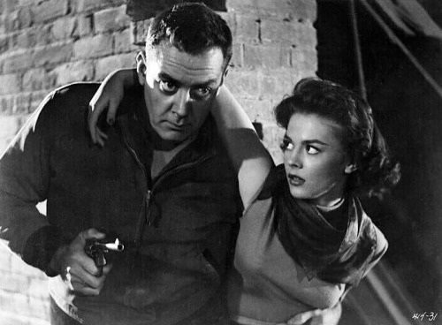 Natalie Wood and Raymond Burr in A Cry in the Night (1956)