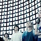 Tao Tsuchiya, Kento Yamazaki, Nijirô Murakami, and Aya Asahina in Alice in Borderland (2020)