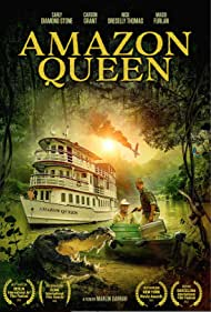 Carson Grant, Carly Diamond Stone, Nick Dreselly Thomas, and Massi Furlan in Queen of the Amazon (2021)