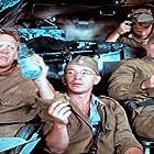 Bruce Davison, David Patrick Kelly, Keith Szarabajka, and Branko Vidakovic in The Misfit Brigade (1987)