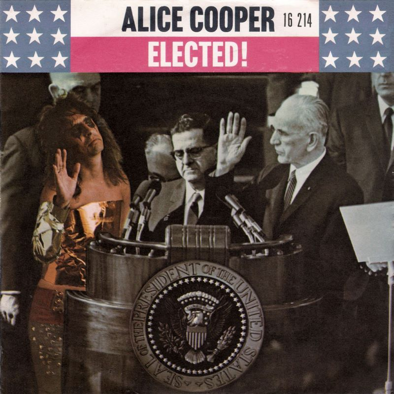 Alice Cooper: Elected (Video 1972) - IMDb