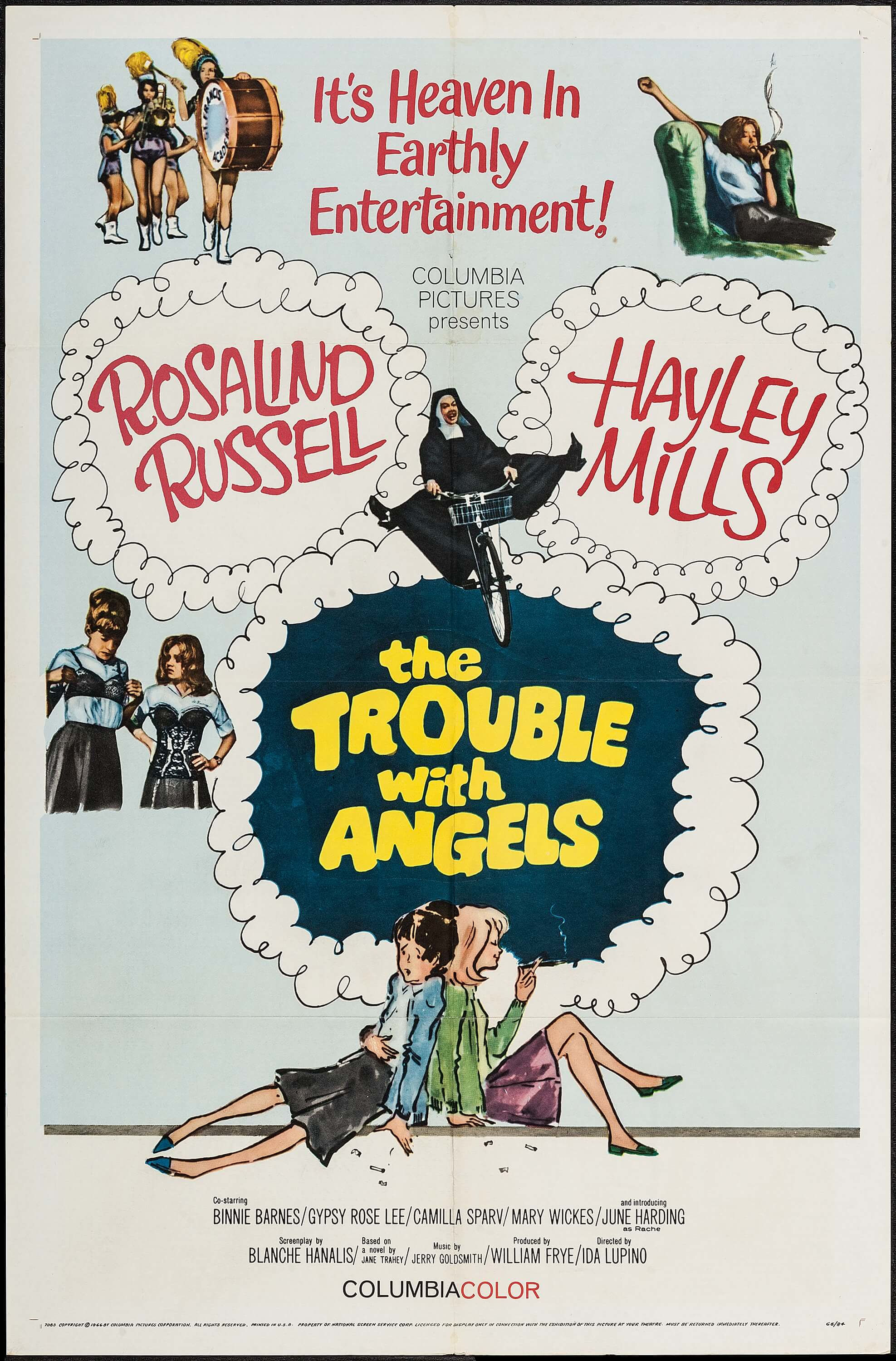 The Trouble with Angels (1966) - IMDb