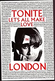 Tonite Let's All Make Love in London (1967) Poster - Movie Forum, Cast, Reviews
