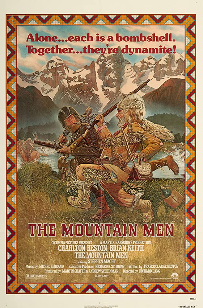 Charlton Heston and Brian Keith in The Mountain Men (1980)