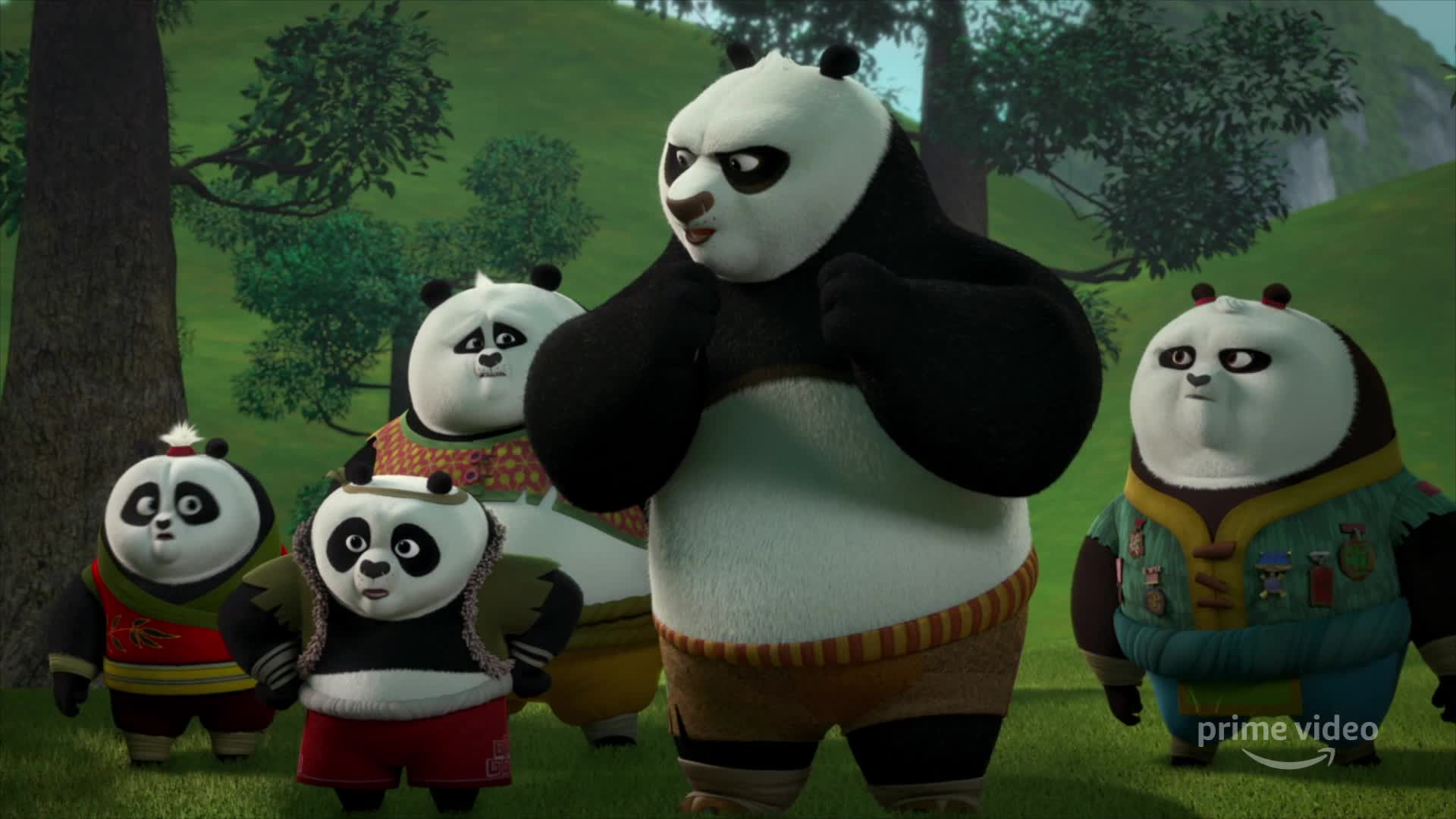 Kung Fu Panda The Paws Of Destiny Tv Series 2018 Imdb