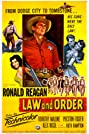 Law and Order (1953) Poster