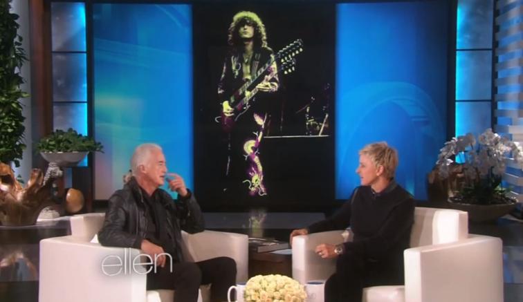 Ellen DeGeneres and Jimmy Page in Ellen: The Ellen DeGeneres Show (2003)