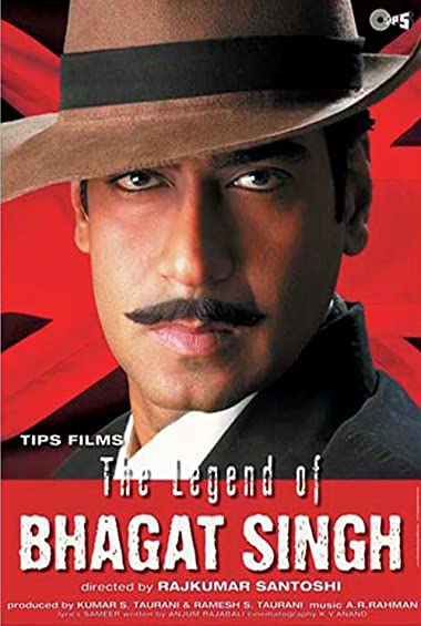 Poster of The Legend of Bhagat Singh 2002 Full Hindi Free Download Watch Online In HD Movie Download 720p HDRip