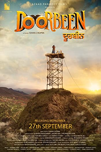 Poster of Doorbeen 2019 Full Punjabi Free Download Watch Online In HD Movie Download 720p HDRip