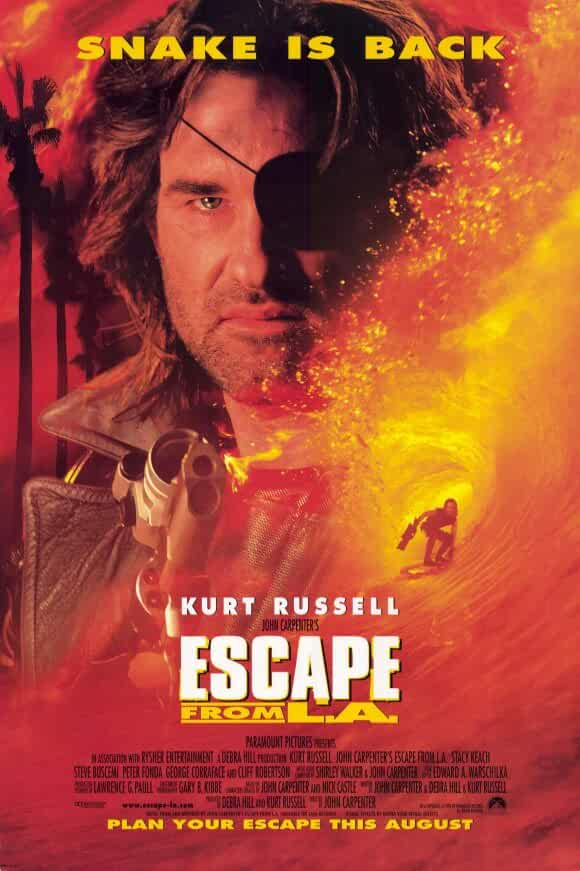 Escape From L.a. (1996) Dual Audio Hindi Full Movie watch Online Download 480p BluRay [300MB]