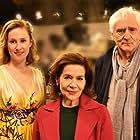 Hannelore Elsner, Günther Maria Halmer, and Marlene Morreis in Lang lebe die Königin (2020)