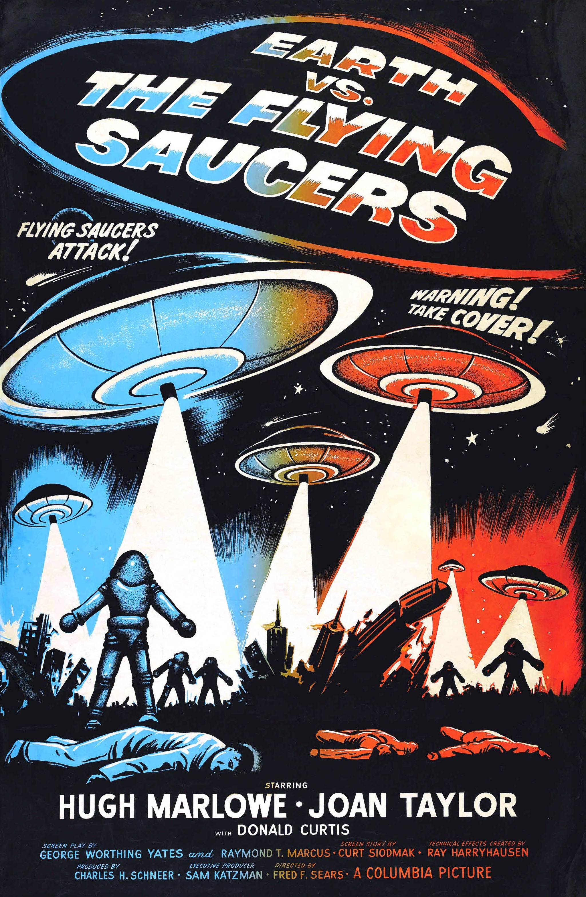 Earth vs the flying saucers 1956 photo gallery imdb