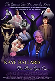 Kaye Ballard - The Show Goes On Poster