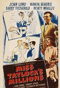 Primary photo for Miss Tatlock's Millions
