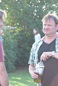 Andrew Brown and Peter Flaherty in Not Yet