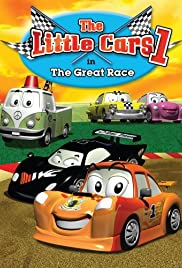 The Little Cars in the Great Race Poster