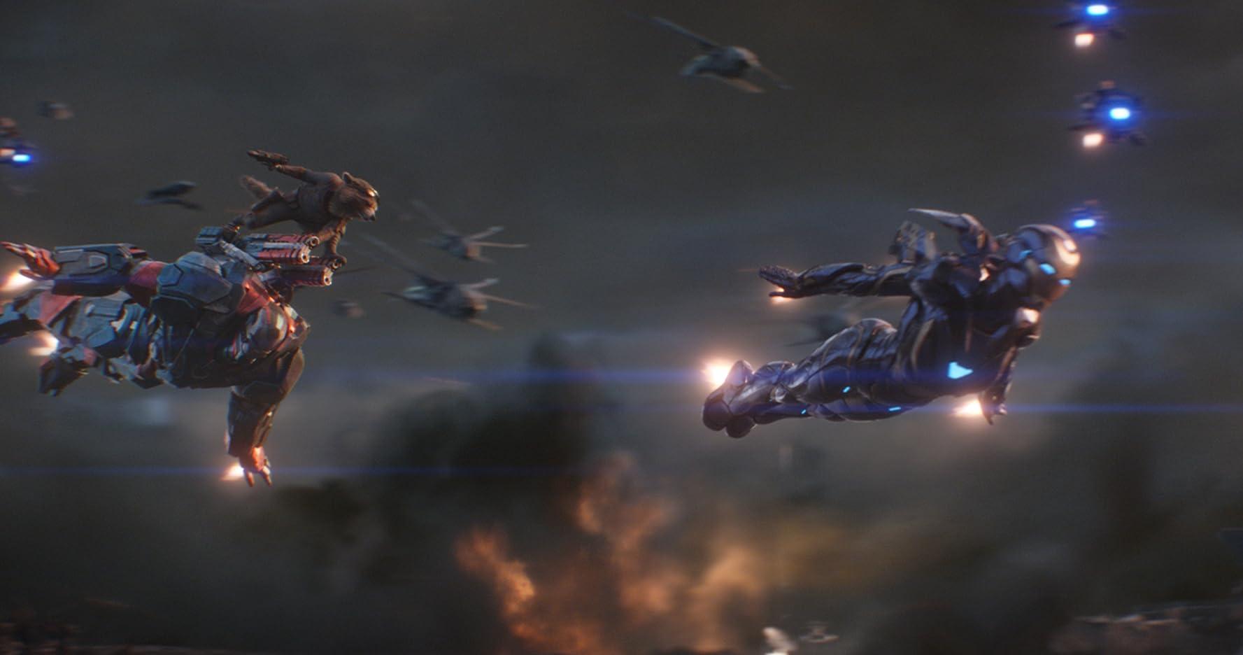 Don Cheadle, Gwyneth Paltrow 및 Bradley Cooper에서 Avengers : Endgame (2019)