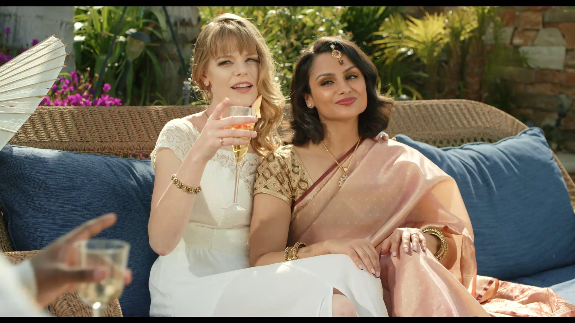 Callie Schuttera and Nazanin Mandi in The Last Conception (2020)
