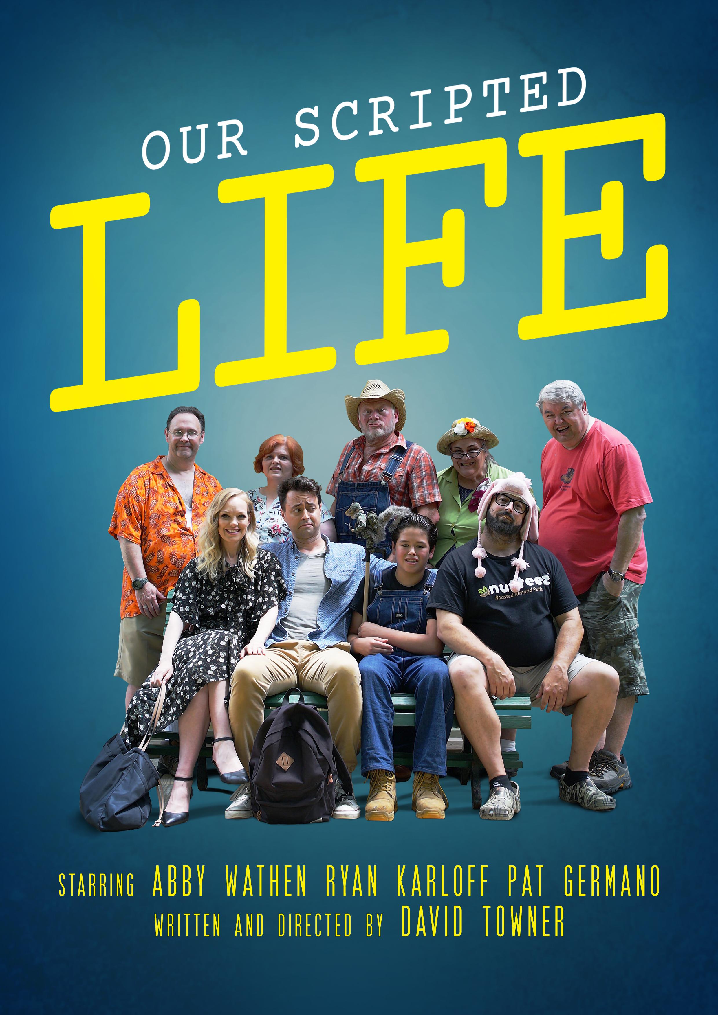 Zaide Avila, Melissia Gary, Sara Beringer, Perry Gary, Jay Fultz, Abby Wathen, David Towner, Ryan Karloff, and Jon Vater in Our Scripted Life (2020)