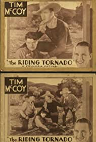 Montagu Love, Tim McCoy, and Wallace MacDonald in The Riding Tornado (1932)
