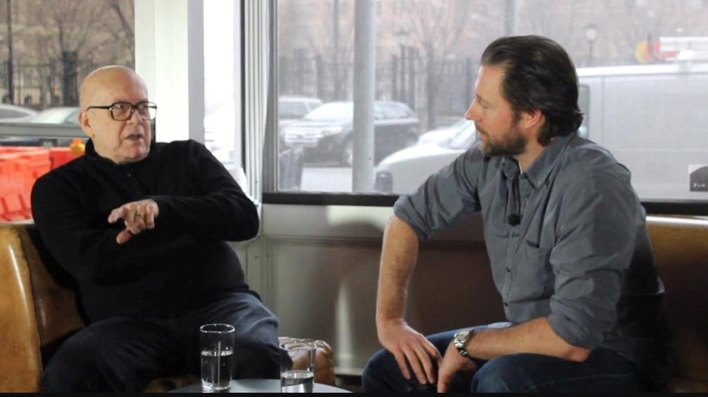Edward Burns and Robert Hawk in Film Hawk (2017)