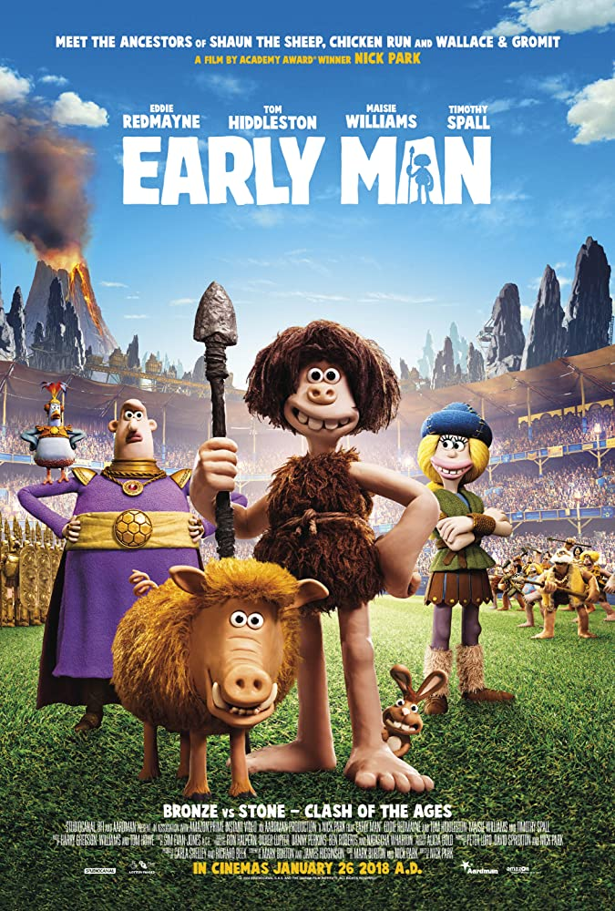 Image result for EARLY MAN ( 2018 ) POSTER