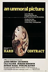 Hard Contract (1969) Poster - Movie Forum, Cast, Reviews