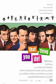 Tom Hanks, Liv Tyler, Johnathon Schaech, Steve Zahn, Ethan Embry, and Tom Everett Scott in That Thing You Do! (1996)