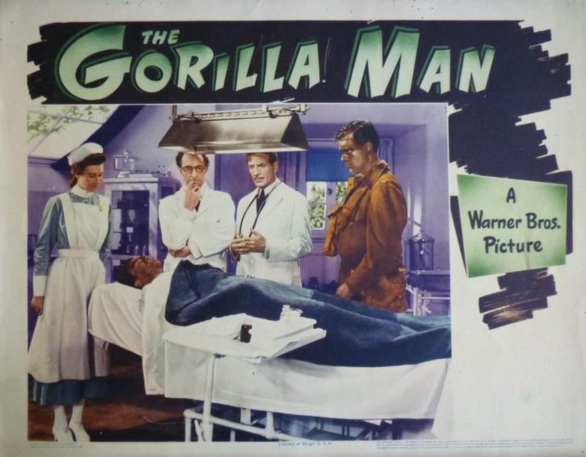 John Abbott, Paul Cavanagh, Mary Field, Richard Fraser, and John Loder in The Gorilla Man (1943)