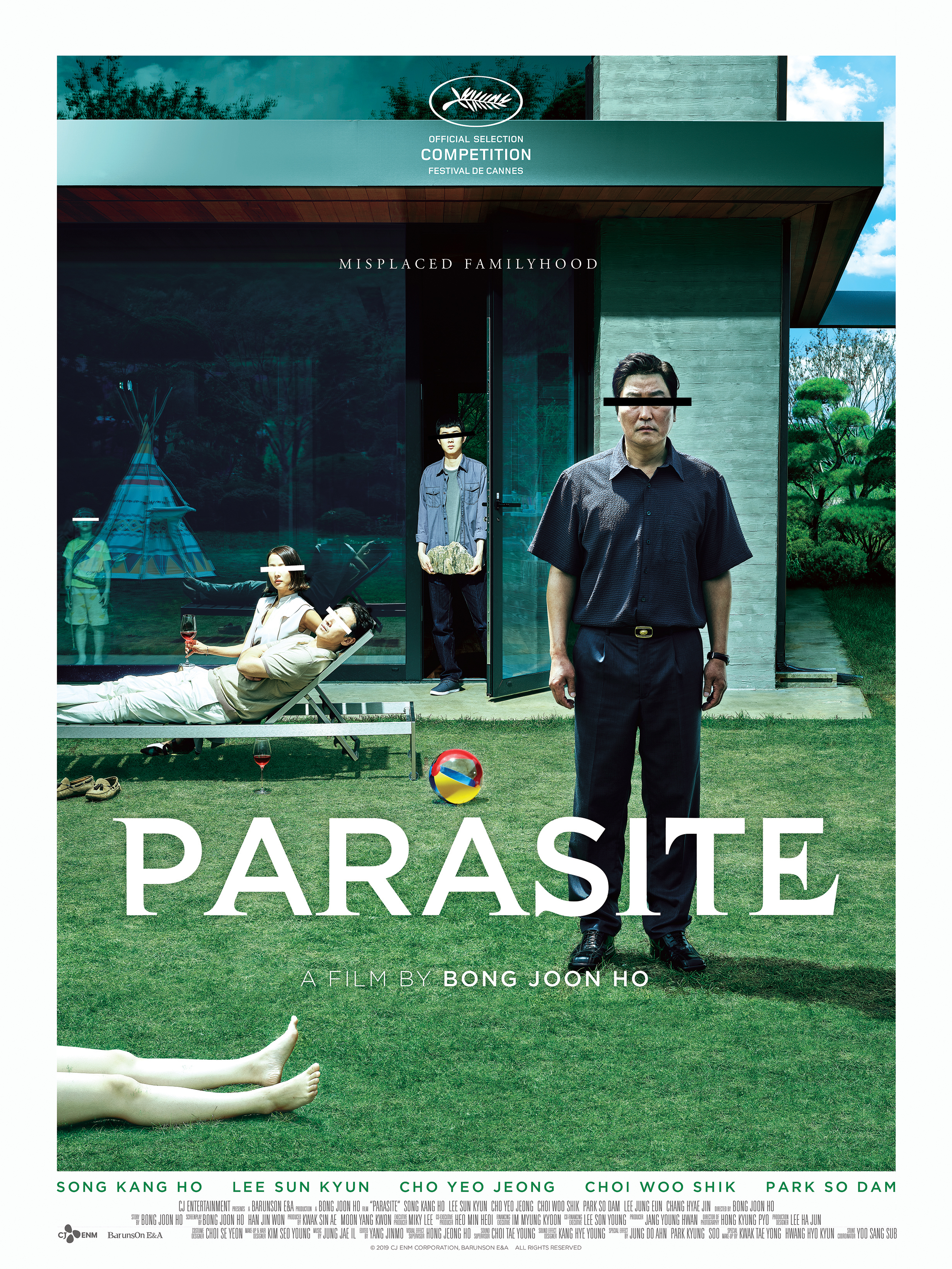 Image result for parasite poster 2019
