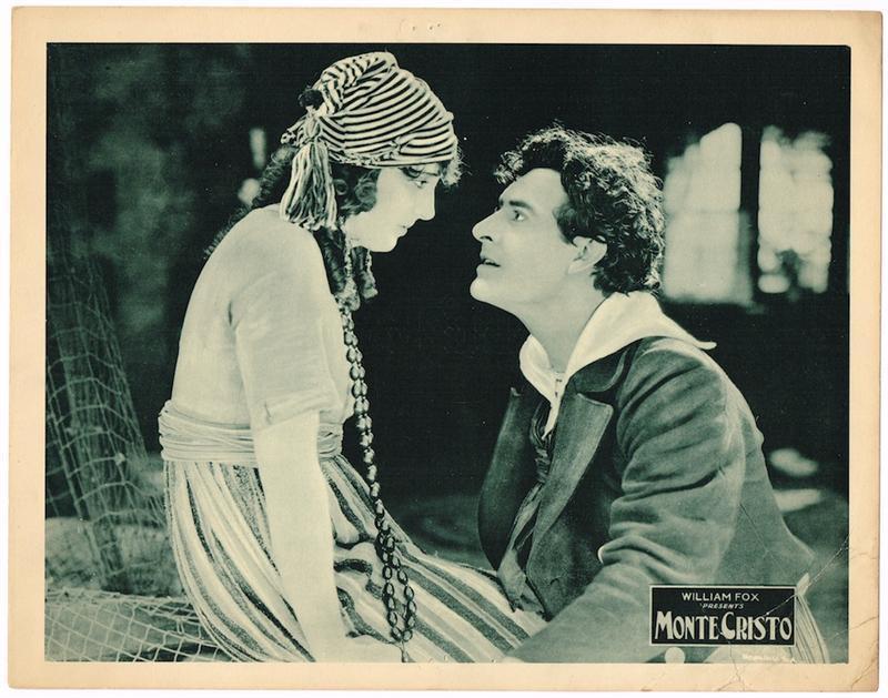 John Gilbert and Estelle Taylor in Monte Cristo (1922)