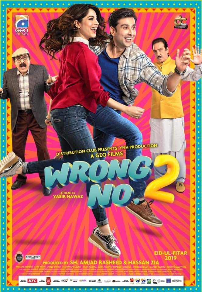 Wrong No. 2 (2019) Urdu Movie 410MB HDRip ESubs Download
