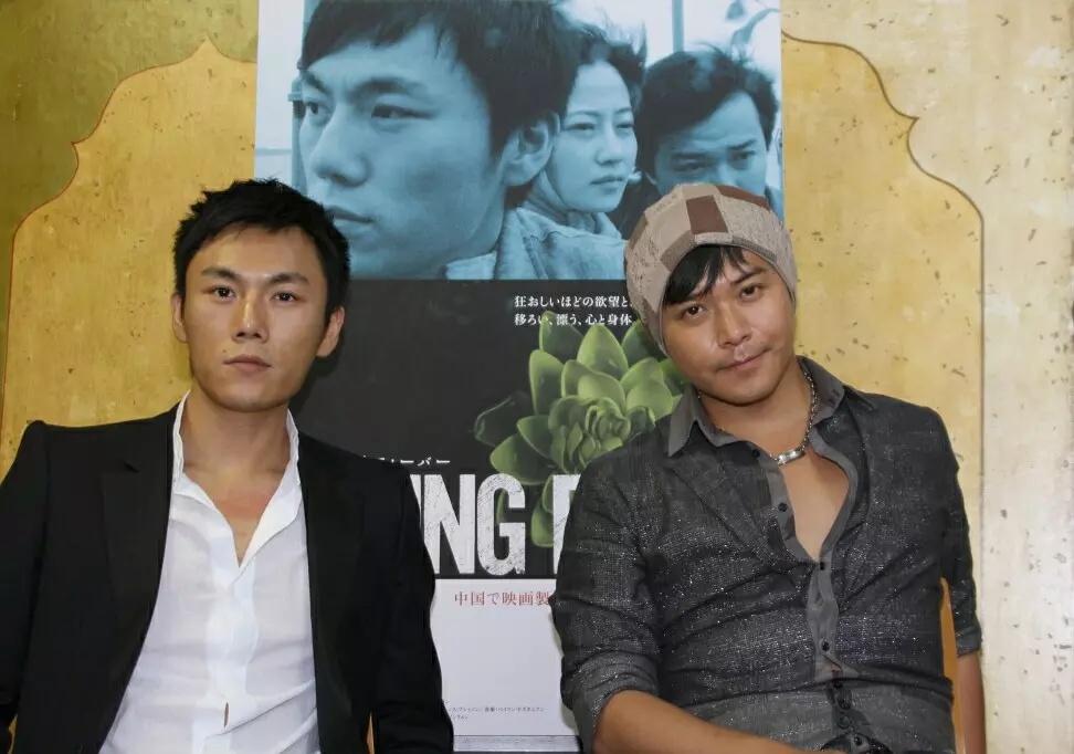 Sicheng Chen and Hao Qin at an event for Chun feng chen zui de ye wan (2009)