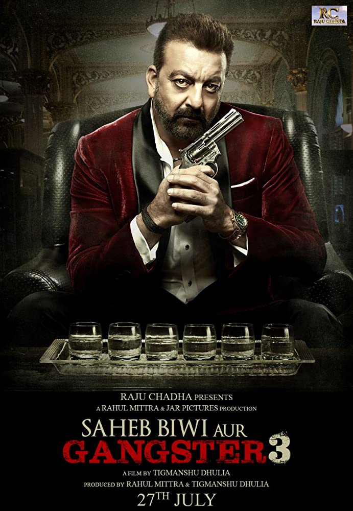 Saheb Biwi Aur Gangster 3 (2018) Hindi PreDVDRip 700MB AAC MKV