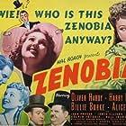 Oliver Hardy, Harry Langdon, James Ellison, June Lang, and Jean Parker in Zenobia (1939)
