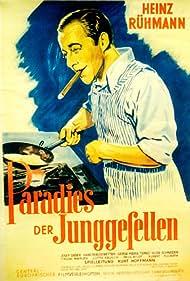 Heinz Rühmann, Hans Brausewetter, Albert Florath, Kurt Hoffmann, Trude Marlen, Lotte Rausch, Hilde Schneider, Josef Sieber, and Gerda Maria Terno in Paradies der Junggesellen (1939)