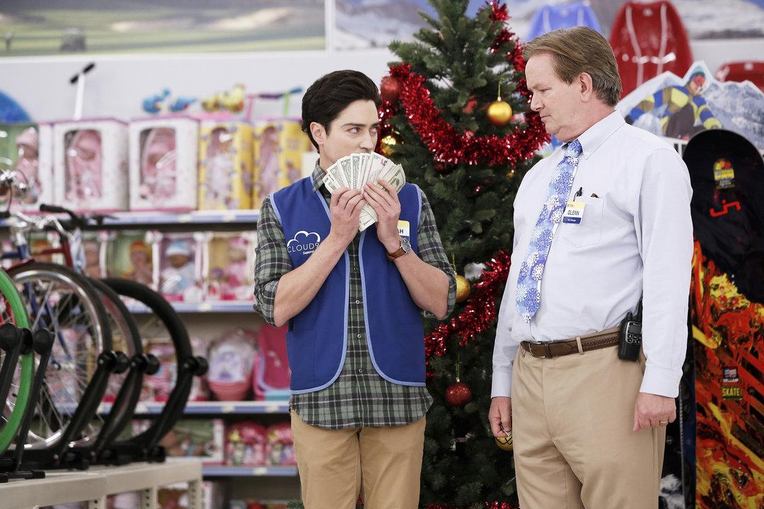 Mark McKinney and Ben Feldman in Superstore (2015)