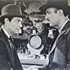 Earle Hodgins and Norman Willis in Bad Man from Red Butte (1940)