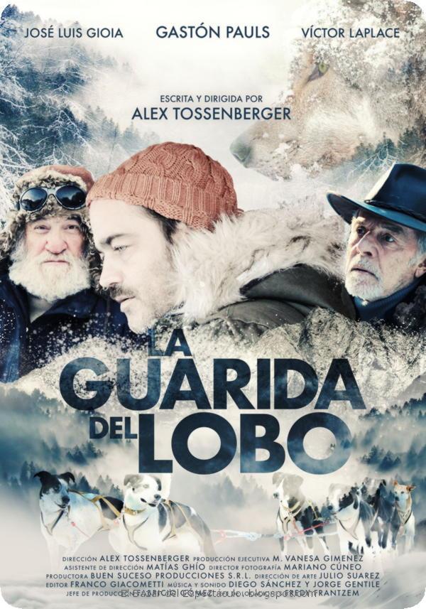 José Luis Gioia, Víctor Laplace, and Gastón Pauls in La Guarida del Lobo (2019)