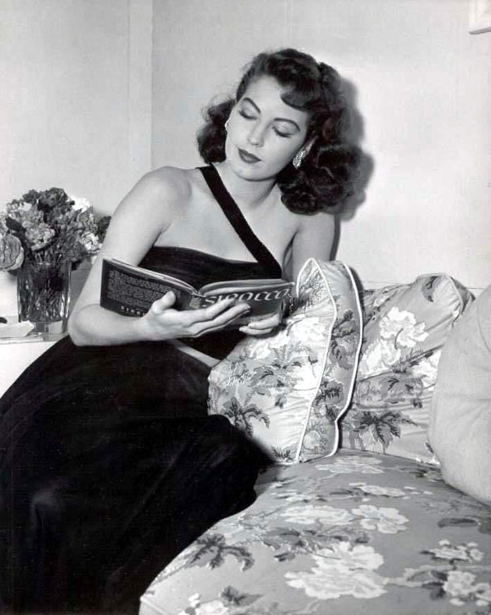 Ava Gardner in The Bribe (1949)