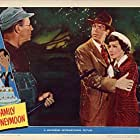 Claudette Colbert, Irving Bacon, and Fred MacMurray in Family Honeymoon (1948)