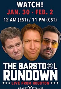 Primary photo for The Barstool Rundown: Live from Houston