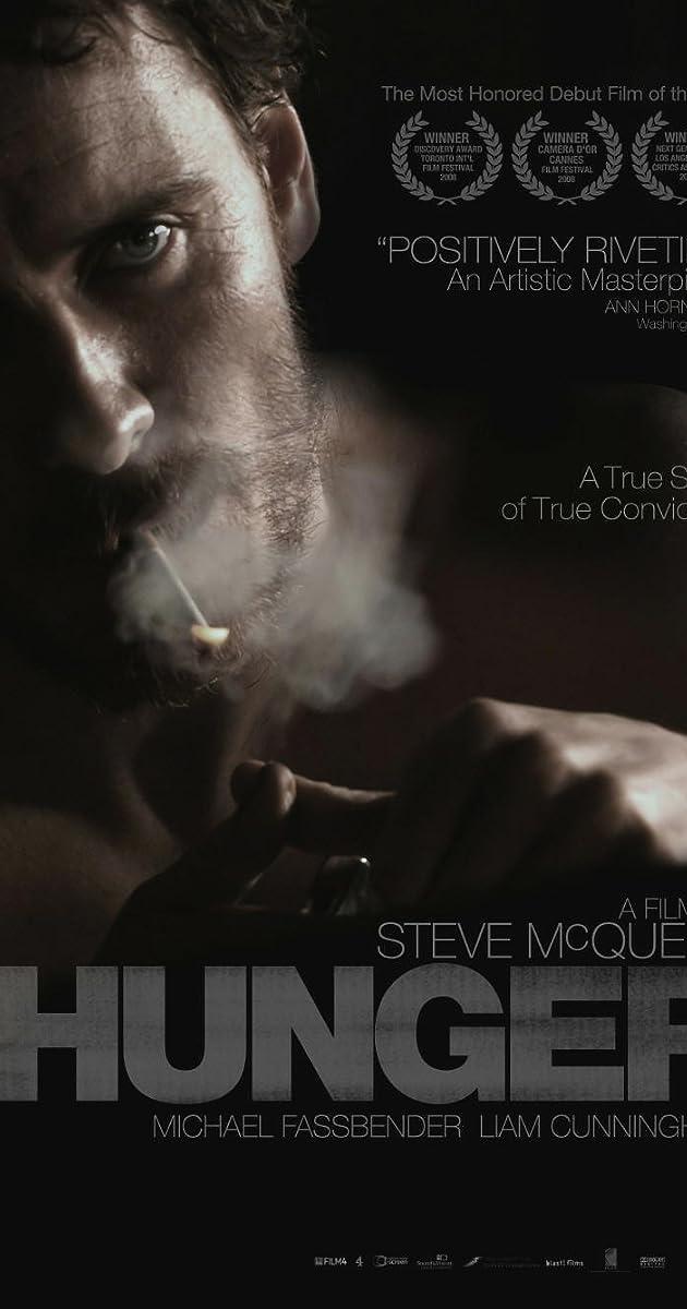HUNGER 2008 Steve McQueen Michael Fassbender Movie Cinema Poster Art
