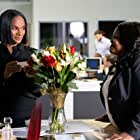 Tika Sumpter and Amber Riley in Nobody's Fool (2018)