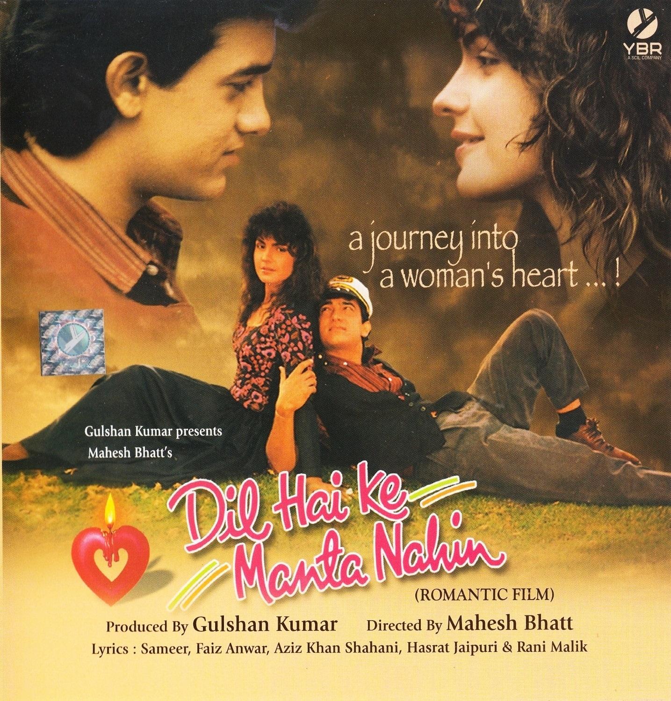 Dil Hai Ki Manta Nahin (1991) Hindi WEB-DL - 480P | 720P - x264 - 500MB | 2.4GB - Download & Watch Online  Movie Poster - mlsbd