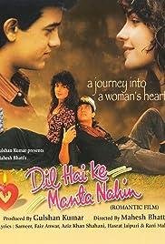 Dil Hai Ki Manta Nahin(1991) Poster - Movie Forum, Cast, Reviews
