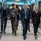 Patrick Stewart, Adrian Scarborough, Timm Sharp, Dolly Wells, Karan Soni, and Mary Holland in Blunt Talk (2015)