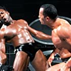 Booker Huffman and Dwayne Johnson in Summerslam (2001)